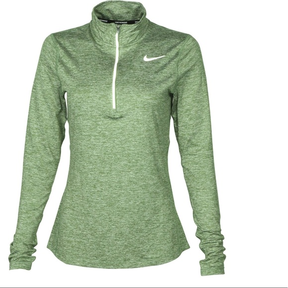 e1dfcf9e Nike Tops | Womens Drifit Element 12 Zip Running Top | Poshmark